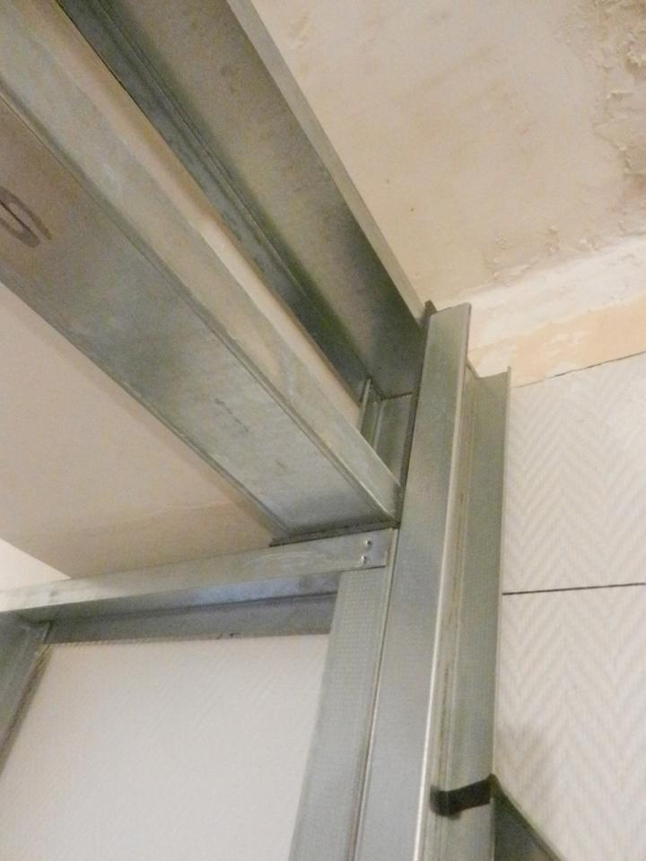 Joint de désolidarisation structure métallique
