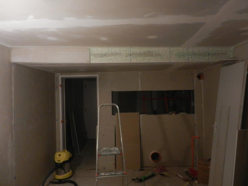 Green Glue sur mur
