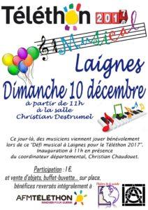Téléthon 2017 Laignes